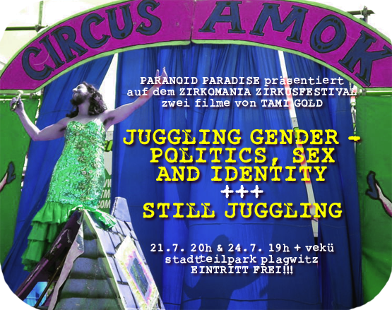 juggling gender und still juggling bei zirkomania flyer